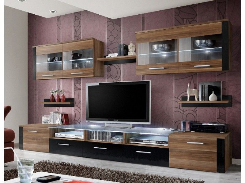 Zoom 2 Living Room Wall Units Wall Unit Living Room Entertainment Center