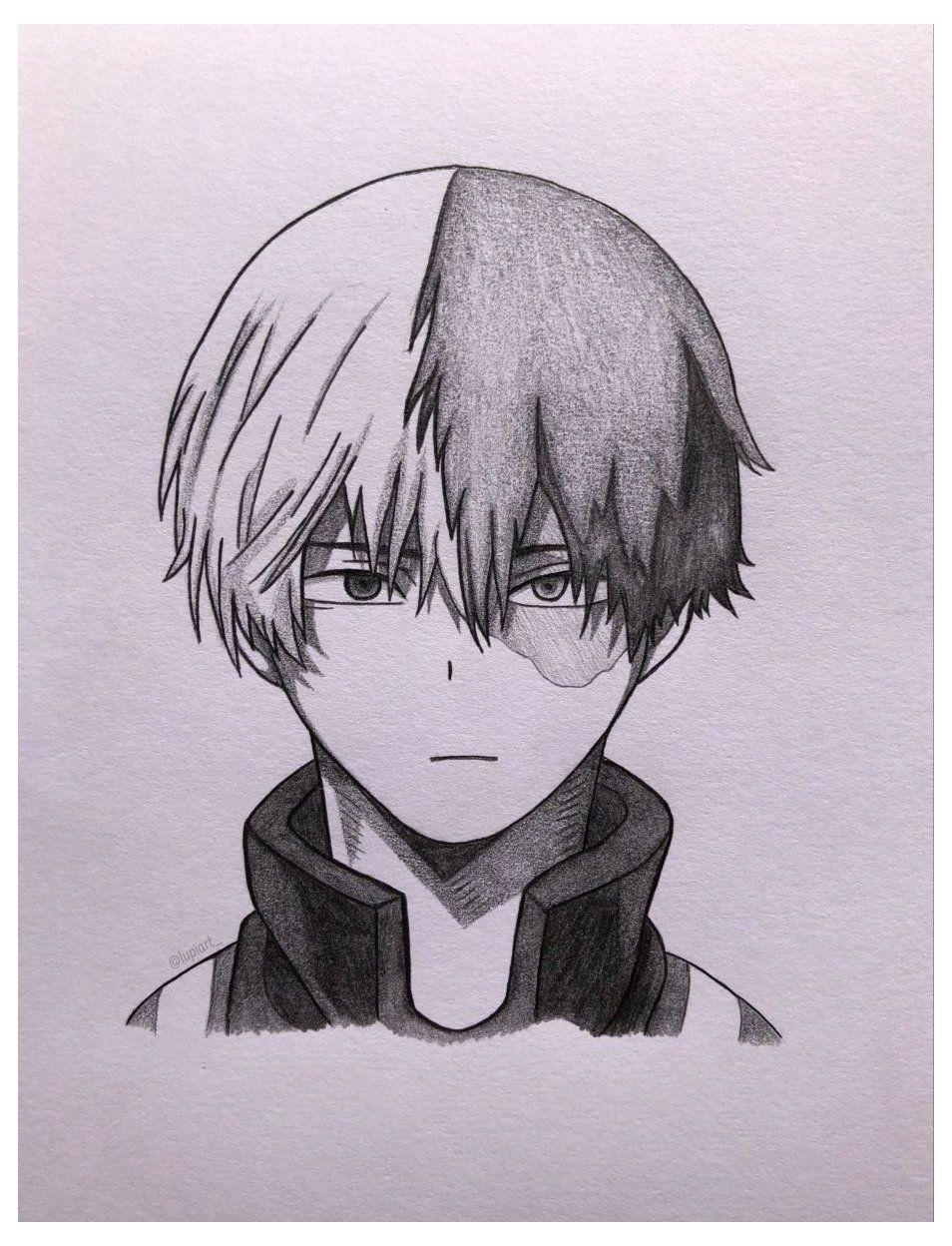 Shoto Todoroki Drawing Easy : shoto, todoroki, drawing