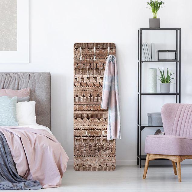 Photo of Appendiabiti shabby – Ornato marocchino in porta di legno
