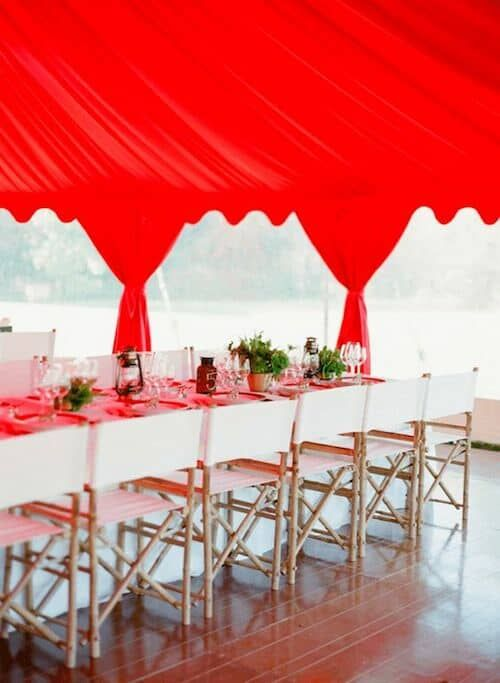 Boda En Rojo Decoración Centros De Mesa E Ideas Fabulosas Idea Plans Garden Weddings And Beach
