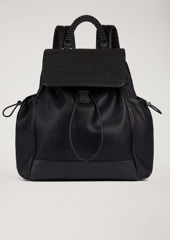 dc23fed3ca EMPORIO ARMANI Backpack. #emporioarmani #bags #polyester #backpacks ...