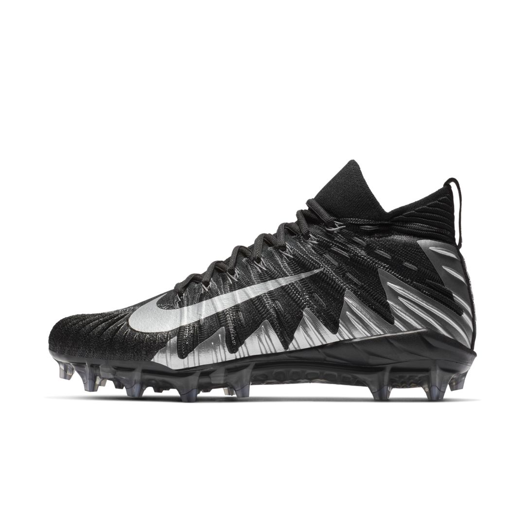 589ee3b48e6 Nike Alpha Menace Elite Men s Football Cleat Size 10.5 (Black)