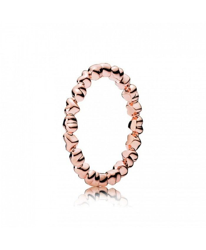 1530fd5ca Pandora Rose Gold Forever Love Ring 180837 Jewelry 70% off Clearance ...