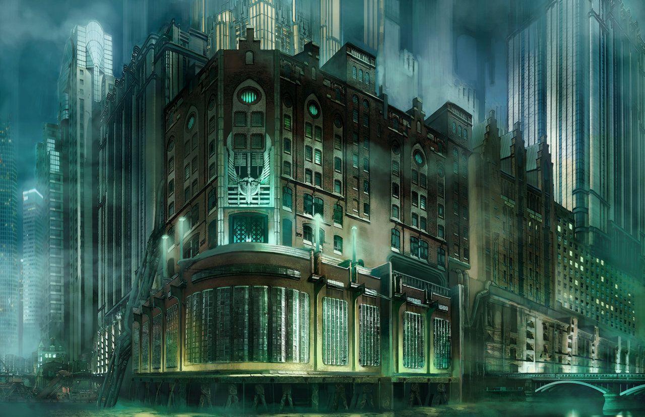 Art Deco city concept by jubjubjedi.deviantart.com on ...