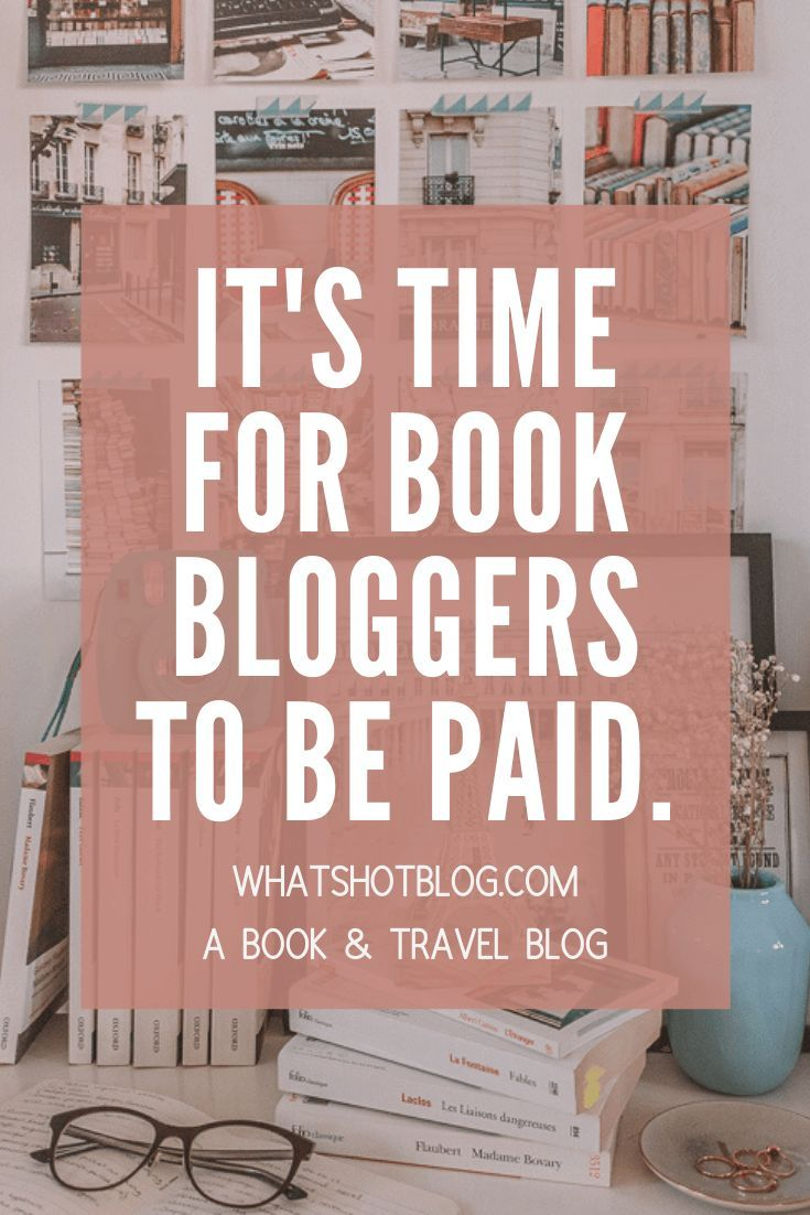 Are you trying to earn money from your book blog? You may find it a little more difficult than in other industries... It's time for book bloggers and bookstagrammers to get paid. Let's discuss influencer marketing for bookstagrammers why book bloggers should be paid for sponsored posts more often! #whatshotblog #bookstagram #bookblog #influencermarketing #bookbloggers #bloggingtips
