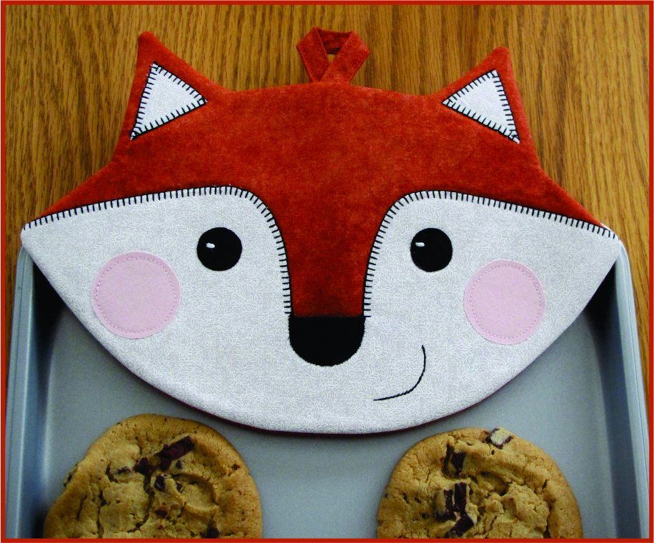 Pattern pieces and instructions to sew up some Foxy Hot Pads! Sew ...