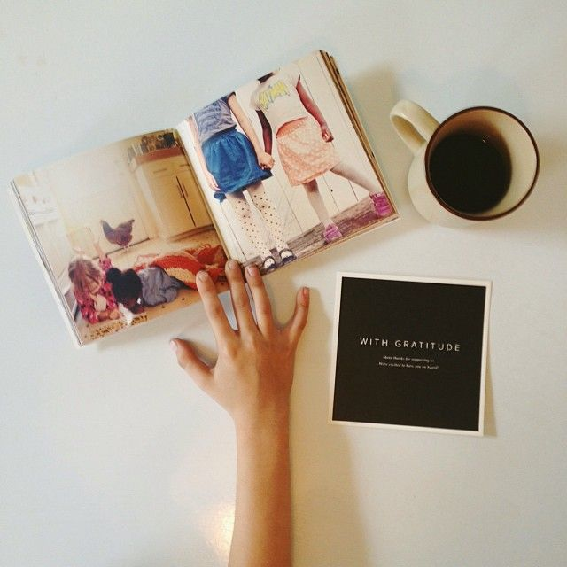 Artifact Uprising softcover photo book by instagrammer Kristin Rogers. (love her work!)  sign up to be the first to know when the AU app for iPhone launches > http://www.au.launchrock.com