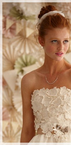 And It S My Favorite Again This Time For Bhldn Anthropologie Bridal Branch Does Count As Stalking Faces Pinterest Wedding Redheads