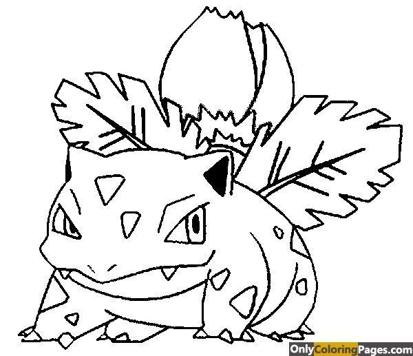 Pokemon Coloring Pages Ivysaur Cartoon Coloring Pages Pokemon Coloring Pages Dragon Coloring Page