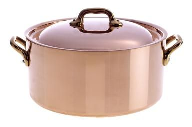 Make Your Own Copper and Brass Cleaner: Keep your copper cookware from discoloring using a simple homemade cleaner.