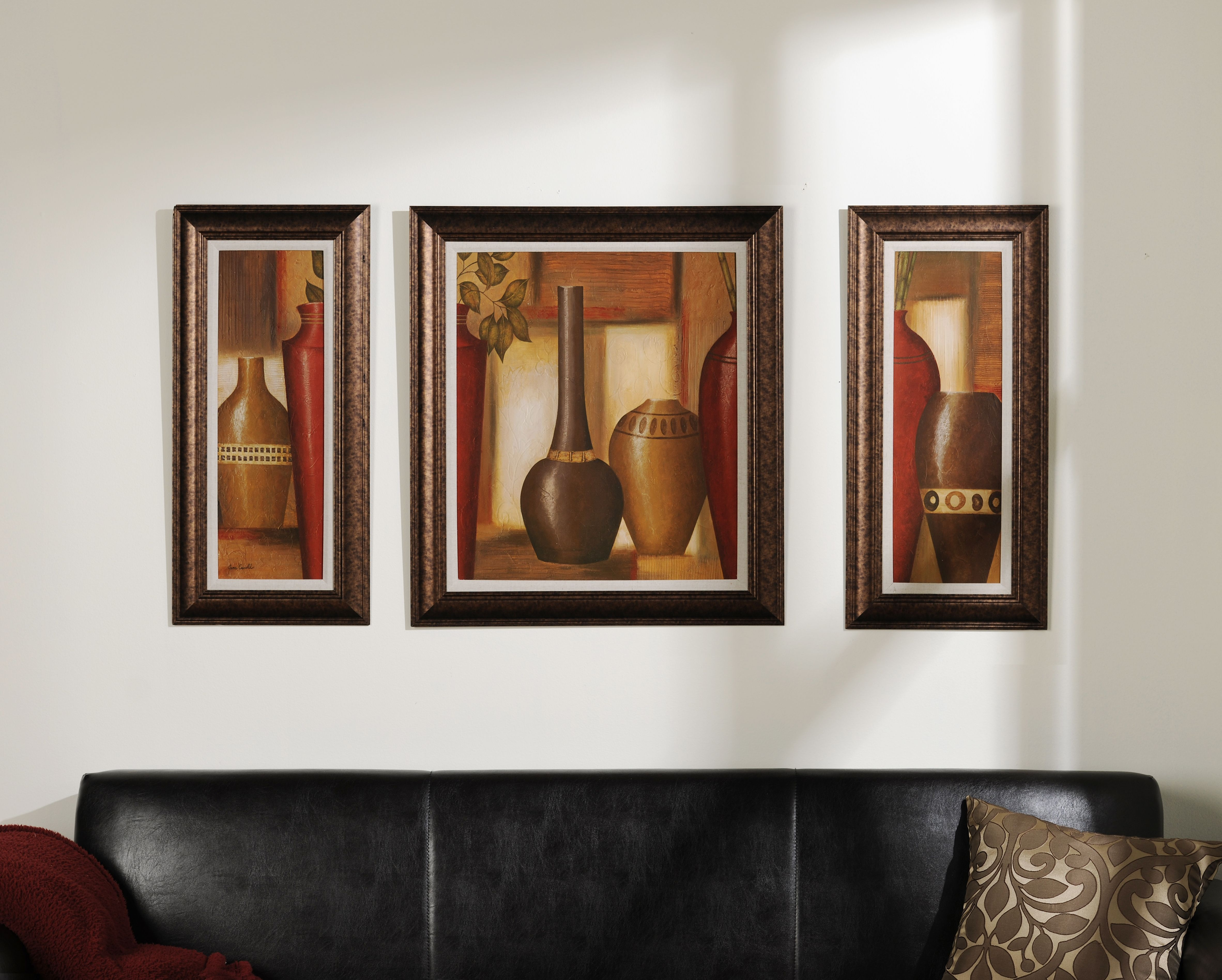 World spice vessel framed art print set of 3 empty wall spaces fill up your empty wall space with a set of 3 kirklands artwalls jeuxipadfo Gallery