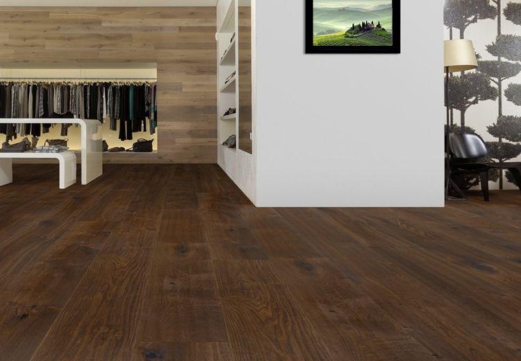 Holzfußboden Xl ~ Xl breitdiele eiche oregon handgehobelt dunkel geräuchert geölt