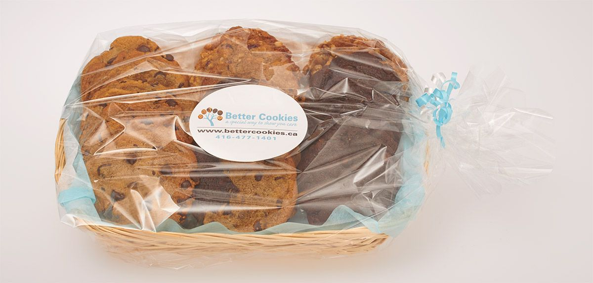 Get local cookie gift basket delivery in Oakville