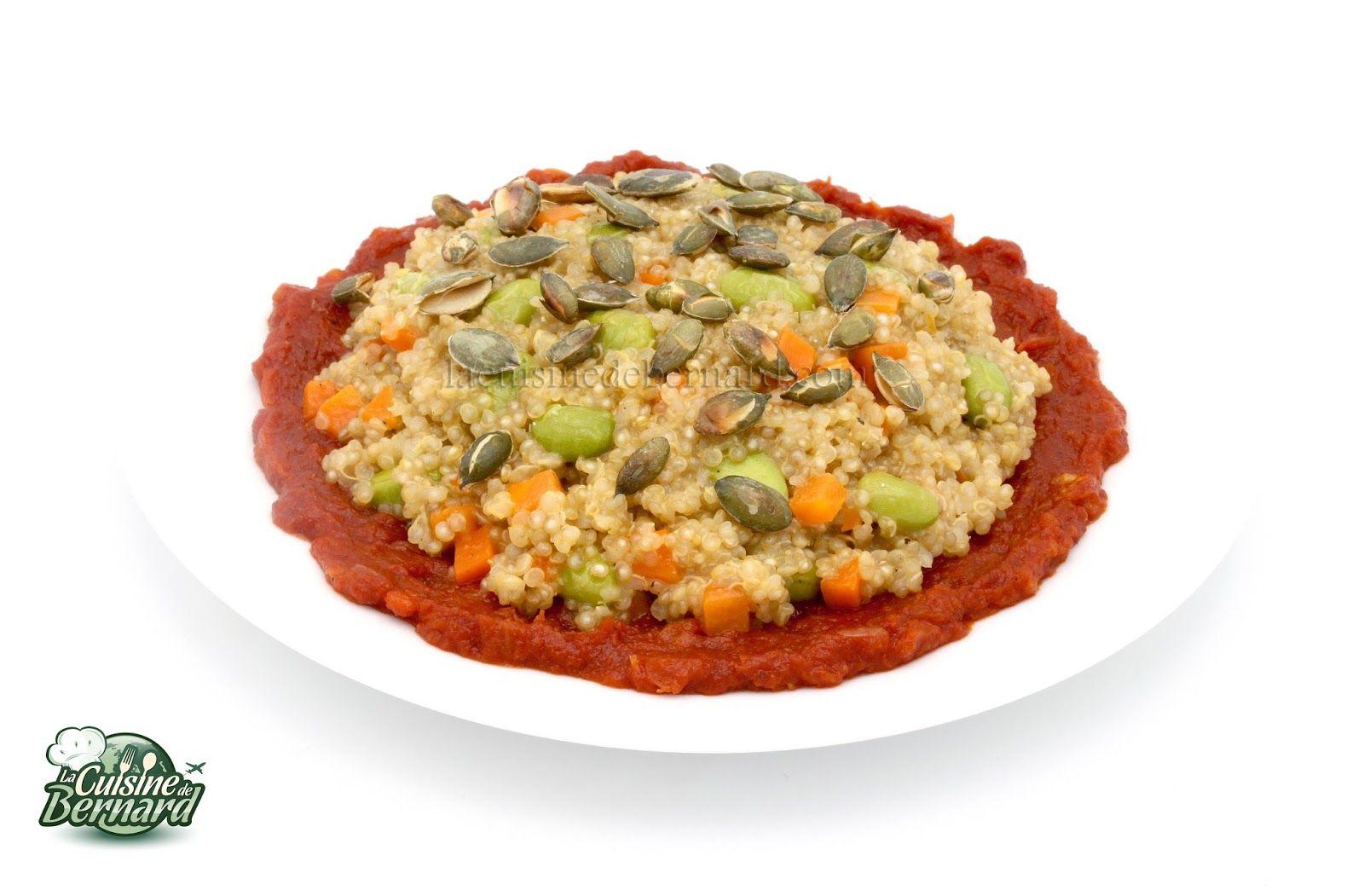 La Cuisine de Bernard : Quinoa façon risotto aux légumes