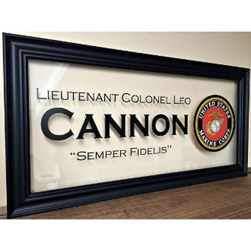 Military Gifts,US Marines frames,Custom Family Gift Hand Made By ...