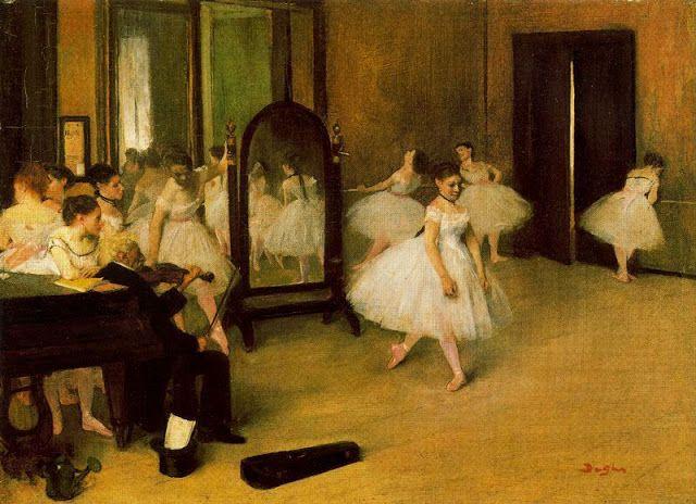 Ticmusart La Clase De Danza Edgar Degas 1871 Pinturas De Degas Arte Famoso Edgar Degas