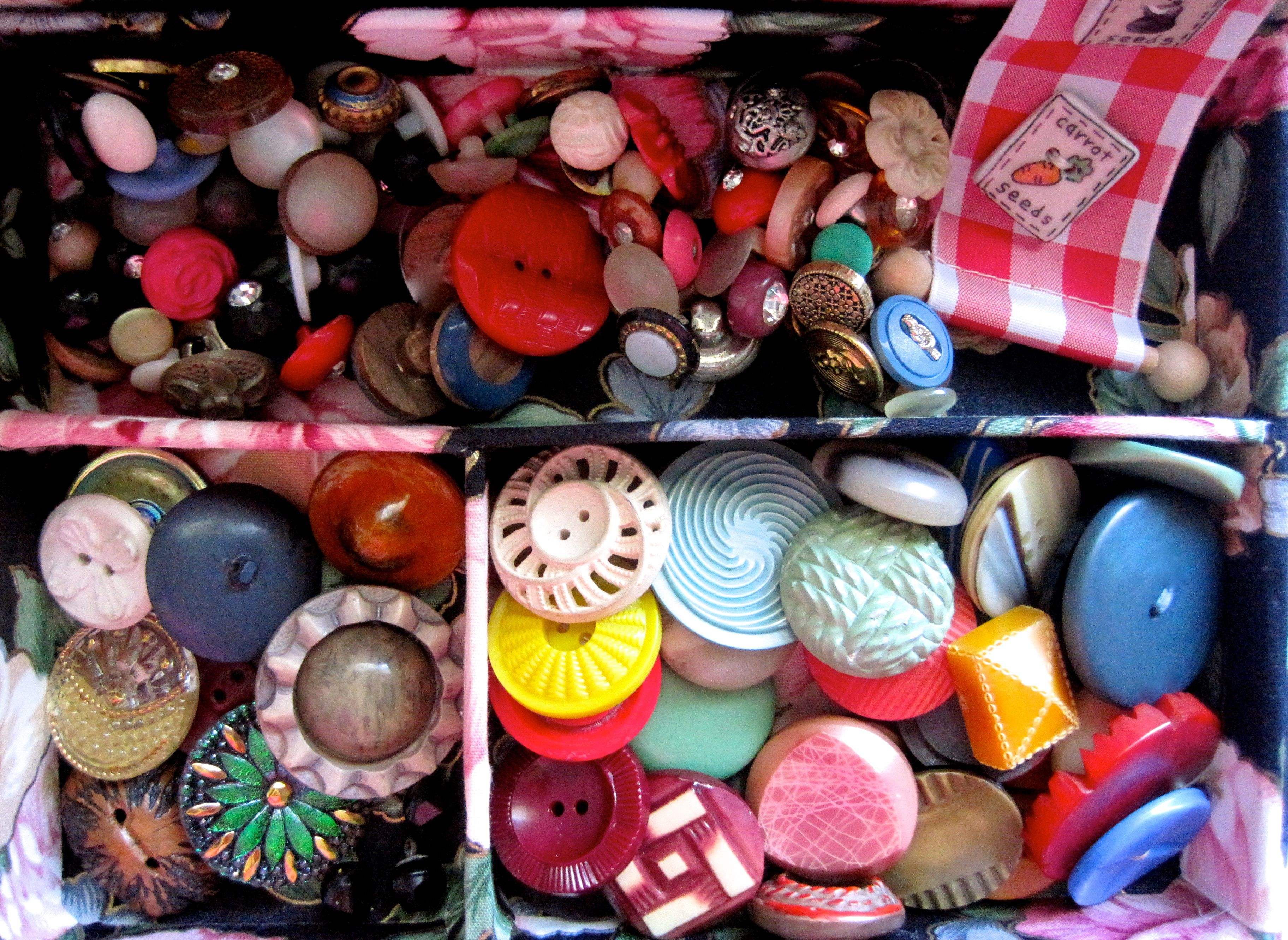 Delicious colors and designs. www.holeybuttons.com