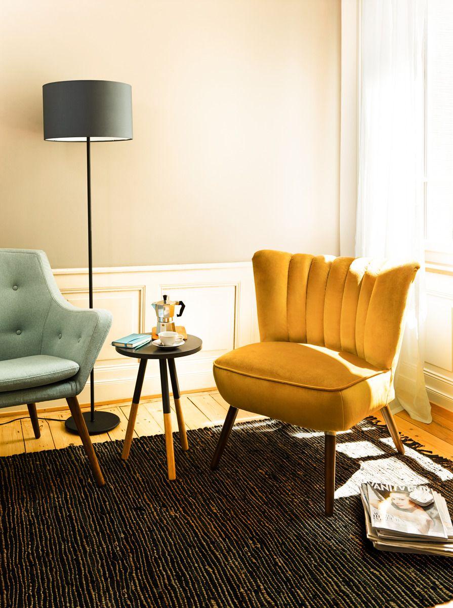 Micasa Wohnzimmer mit Beistelltisch LAUREN   Sessel kaufen