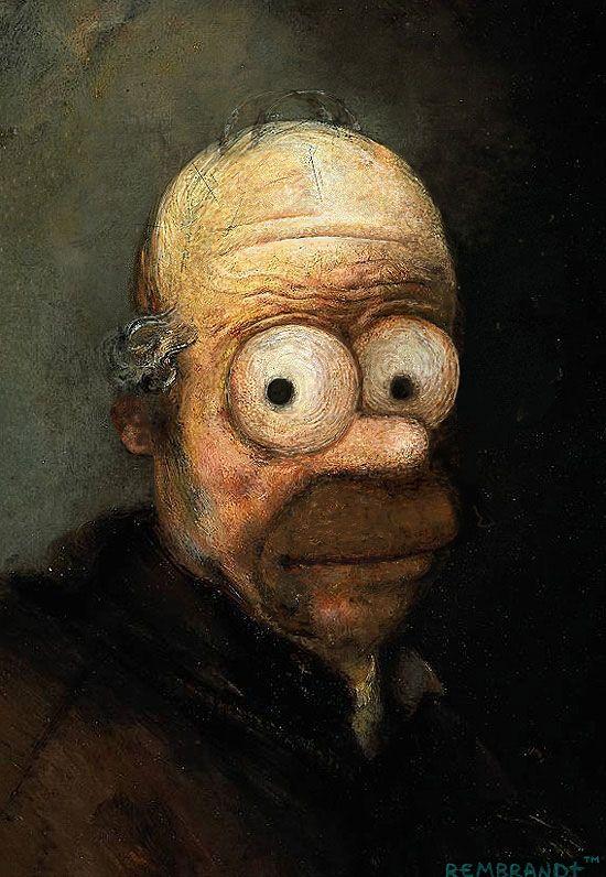 Simpson Art Masterpieces