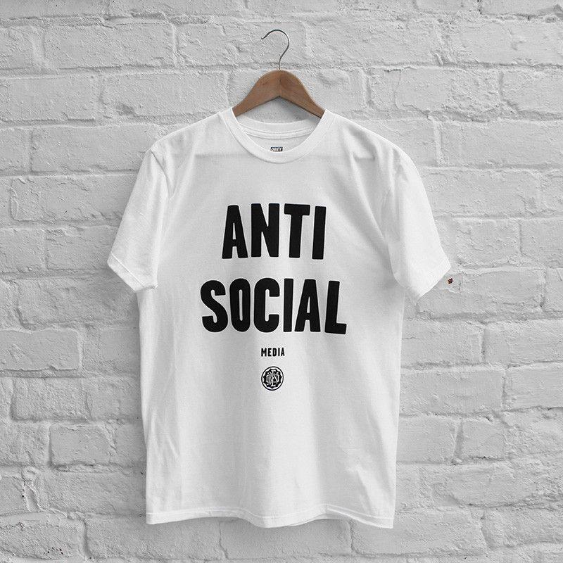 Obey Anti Social Media T Shirt Anti Social Media Shirts Anti Social