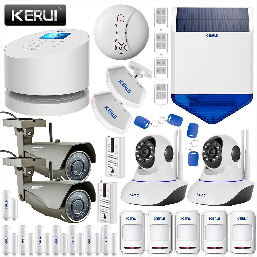 KERUI Wireless IOS Andorid APP Wifi GSM PSTN Line