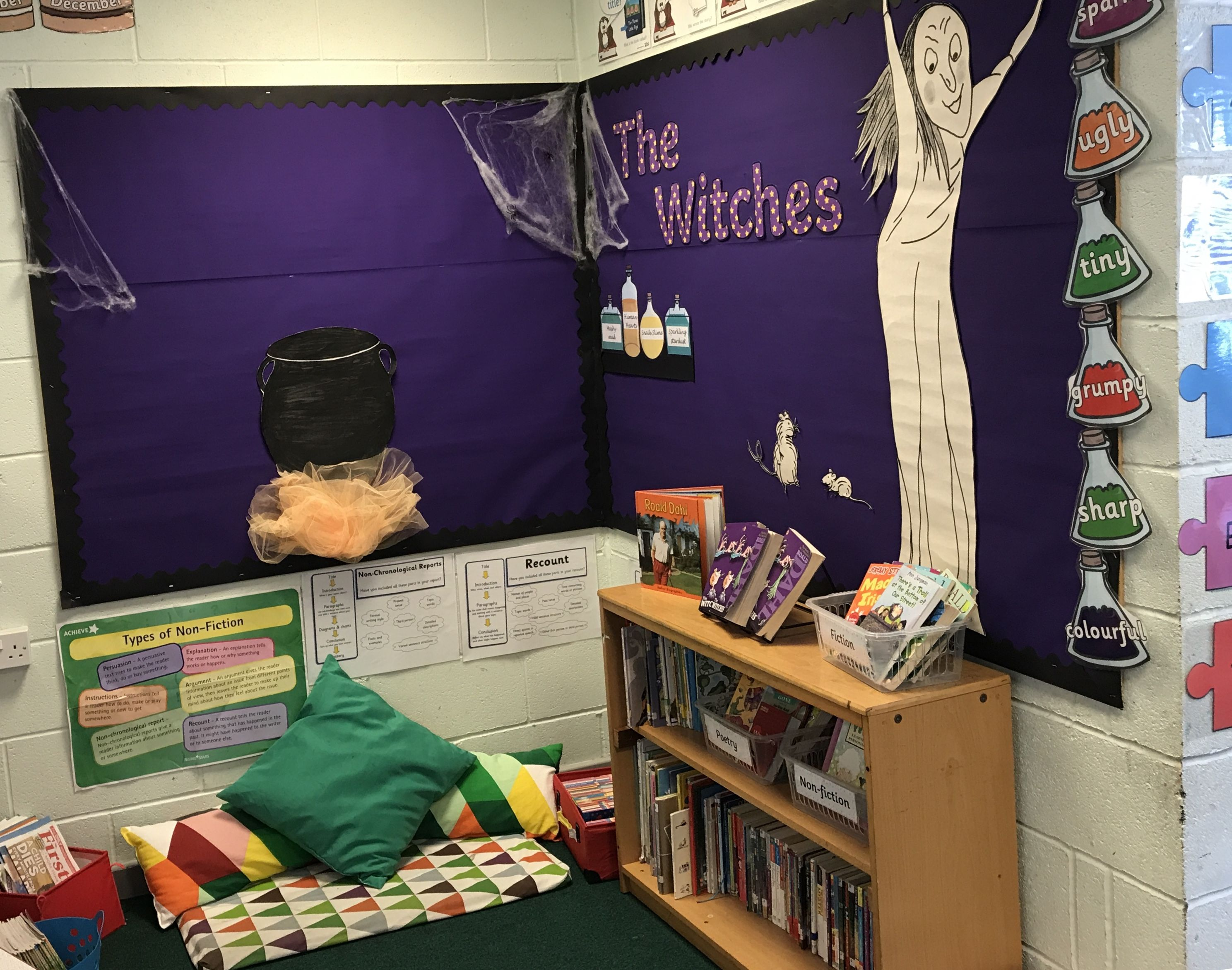 The Witches By Roald Dahl Reading Corner