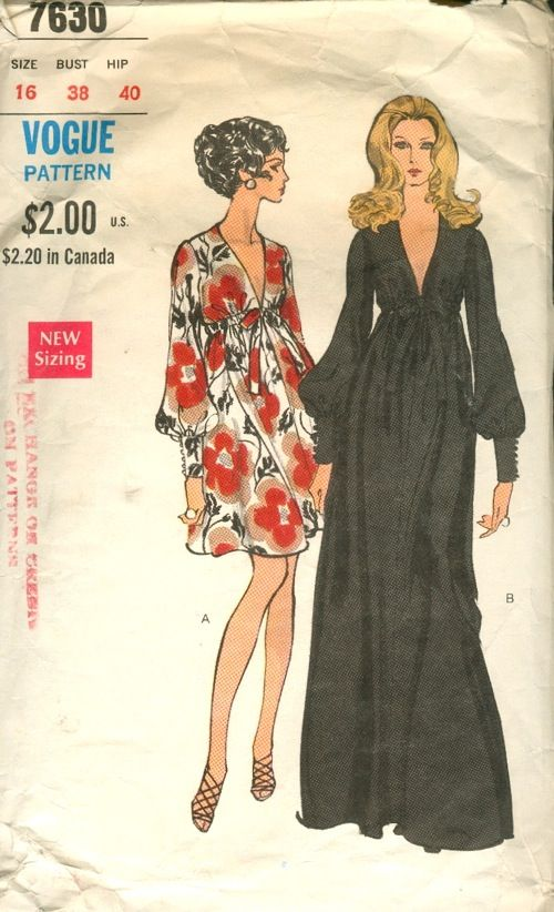 1970 S Coat Sewing Pattern From Vogue Patterns Vogue Patterns