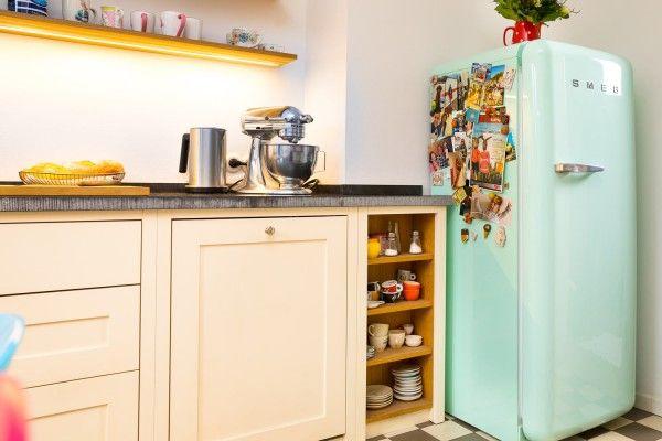 Smeg Kühlschrank Pastellgrün : Smeg kühlschrank fab28 pastellgrün dezente farben in der küche