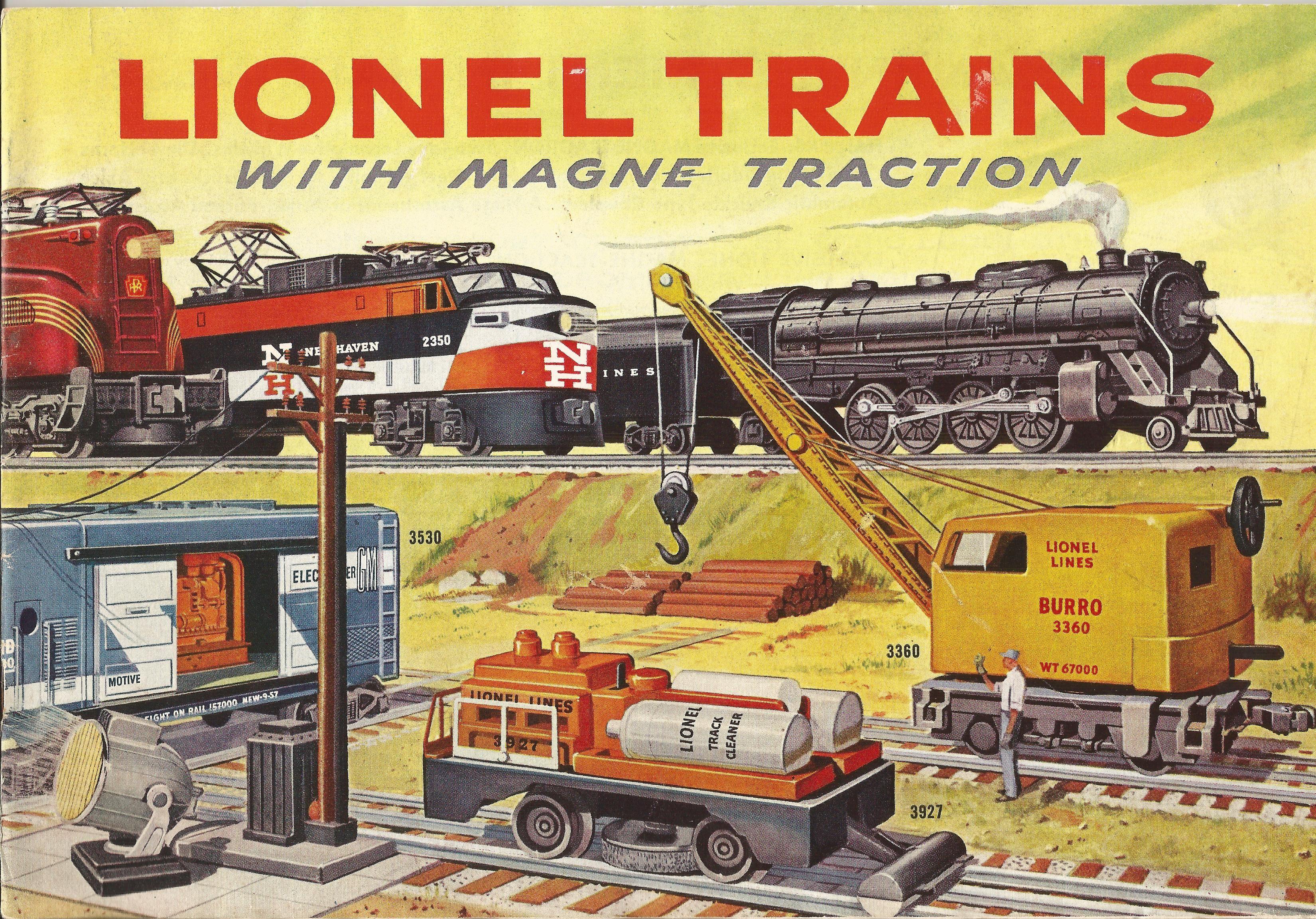 lionel model trains | Cover of 1956 Lionel catalog. | Model Railroad ...