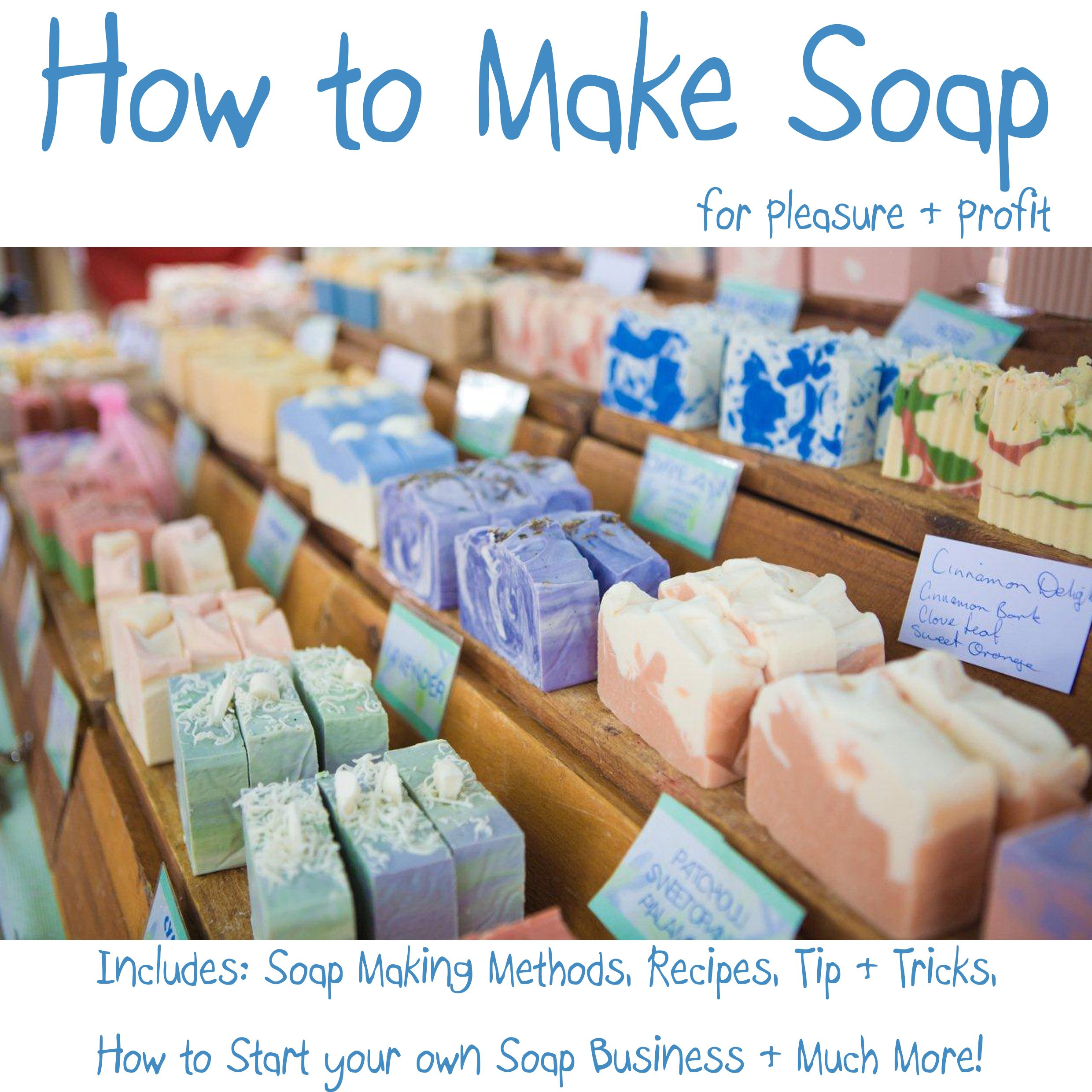how to make bath soap
