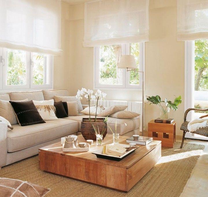 Salas acogedoras | Salas y cuartos de estar. | Living room designs ...
