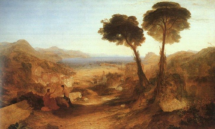 The Bay of Baiae, with Apollo and the Sibyl, J. M. William Turner