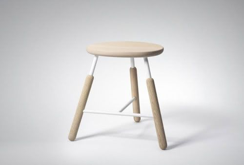 Raft table and stools . Norm Architects