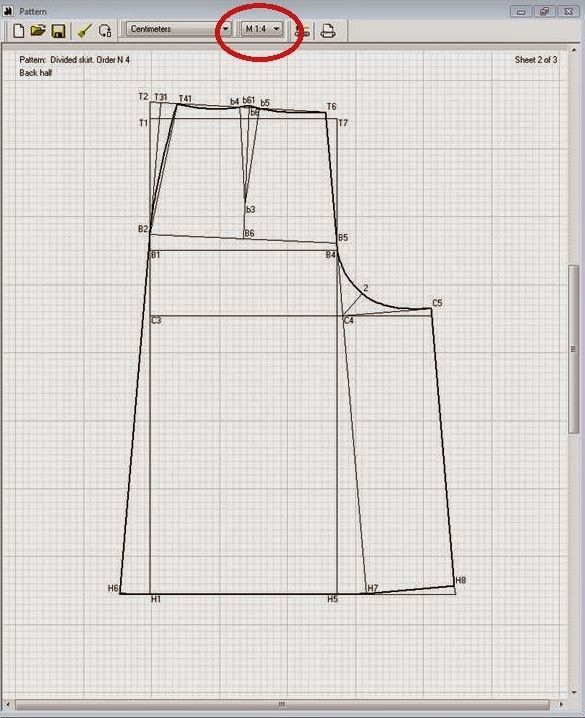 e1b4feb0e Patrón gratis: falda pantalón culotte para todas las tallas | mau ...