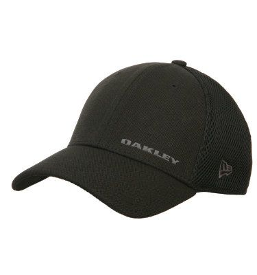 Oakley Men s Silicon Bark New Era Cap  b6a3690955