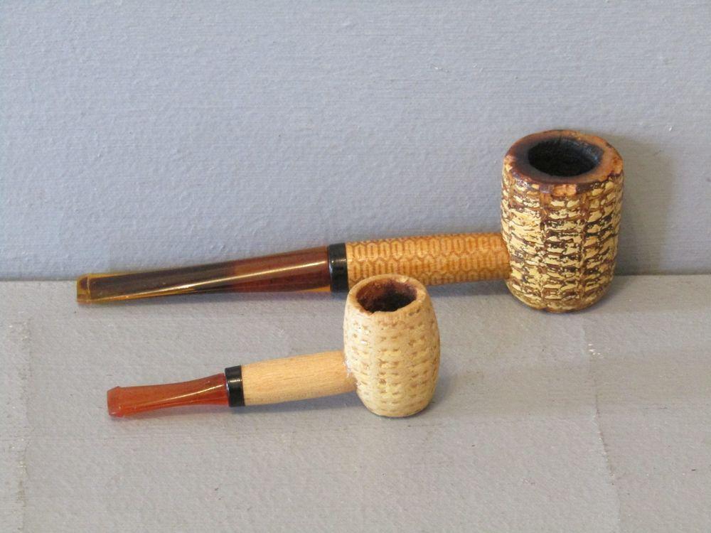 Missouri Meerschaum Pony Express Corncob Tobacco Pipe