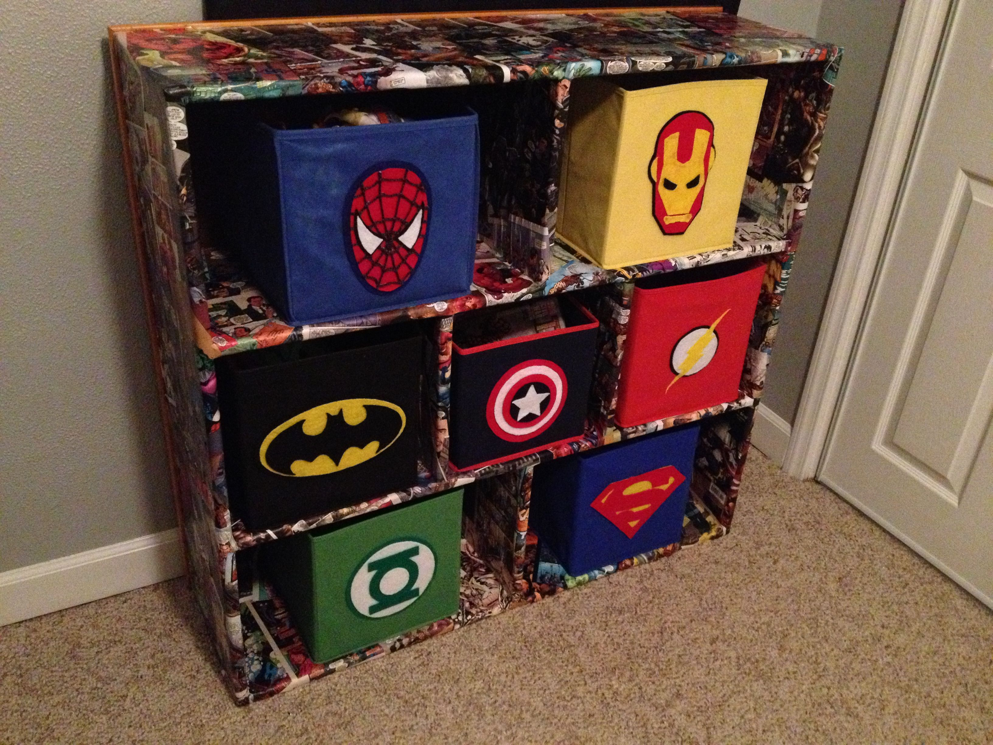 Comic Book Avengers Bedroom On Pinterest Comic Books