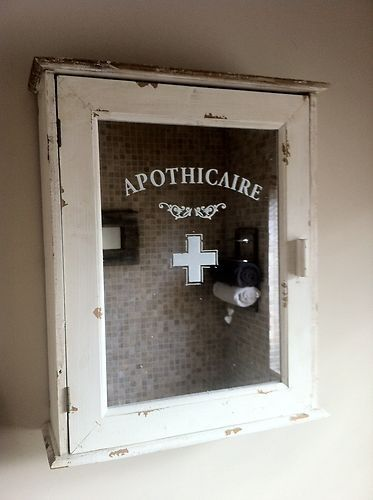 Vintage Medicine Cabinet W/glass Front To Fit My Vintage Stuff.