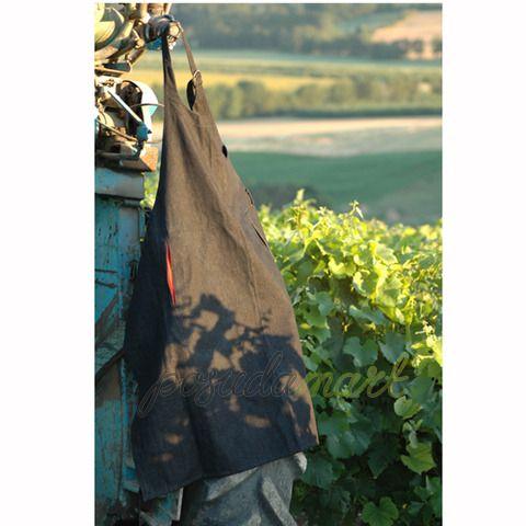 Фартук джинсовый, черный, серия Аксессуары для вина, L ...