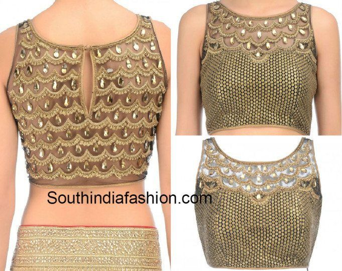 Photo of Boat Neck Blouse Designs: Top 10 Boat Neck Patterns – South India Fashion