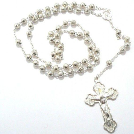 Rosenkransar med äkta silver pärlor