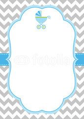 Turquoise Baby Girl Themed Page Border Google Search Cha De Bebe