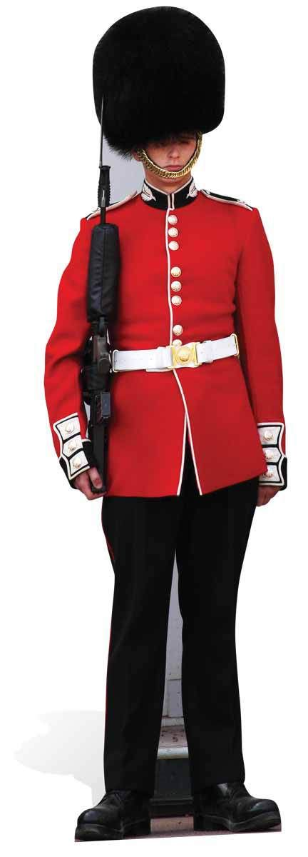 The Queen's Guard Royal Family Guardsman Lifesize Cardboard Cutout Cardboard Cutout / Standee/ Stand Up buy Royal cutouts at starstills.com
