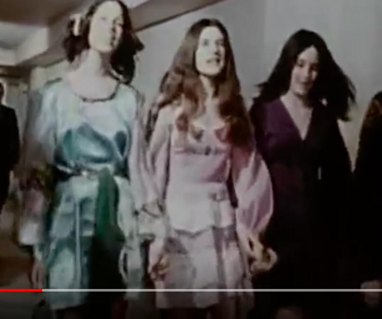 Susan Atkins, Linda Kasabian, and Patricia Krenwinkel
