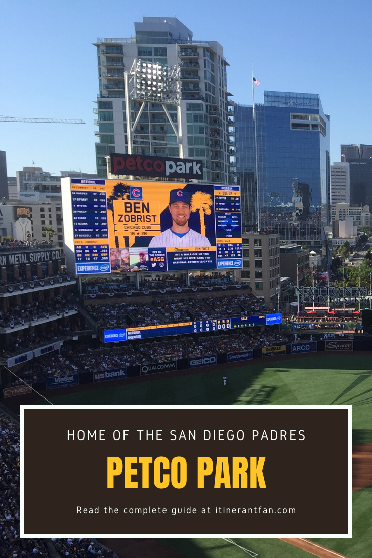 San Diego S Jewel Of A Ballpark Is Right In The Middle Of The Action Next To The City S Famed Gaslamp Quarter Petco Park Serves As