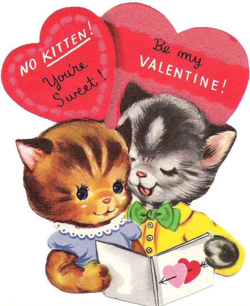 Creative Breathing Such A Happy Day Retro Valentines Vintage Valentine Cards Vintage Valentines