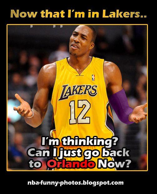 Dwight Howard To Lakers Nba Funny Moments Nba Funny Nba Funny Moments Lakers