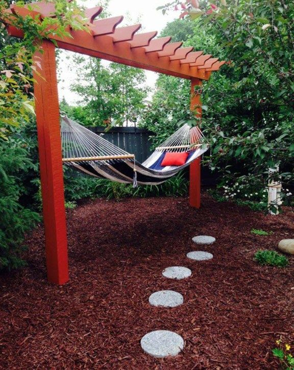 Hammock Pergola - Forest Trek Woodwork