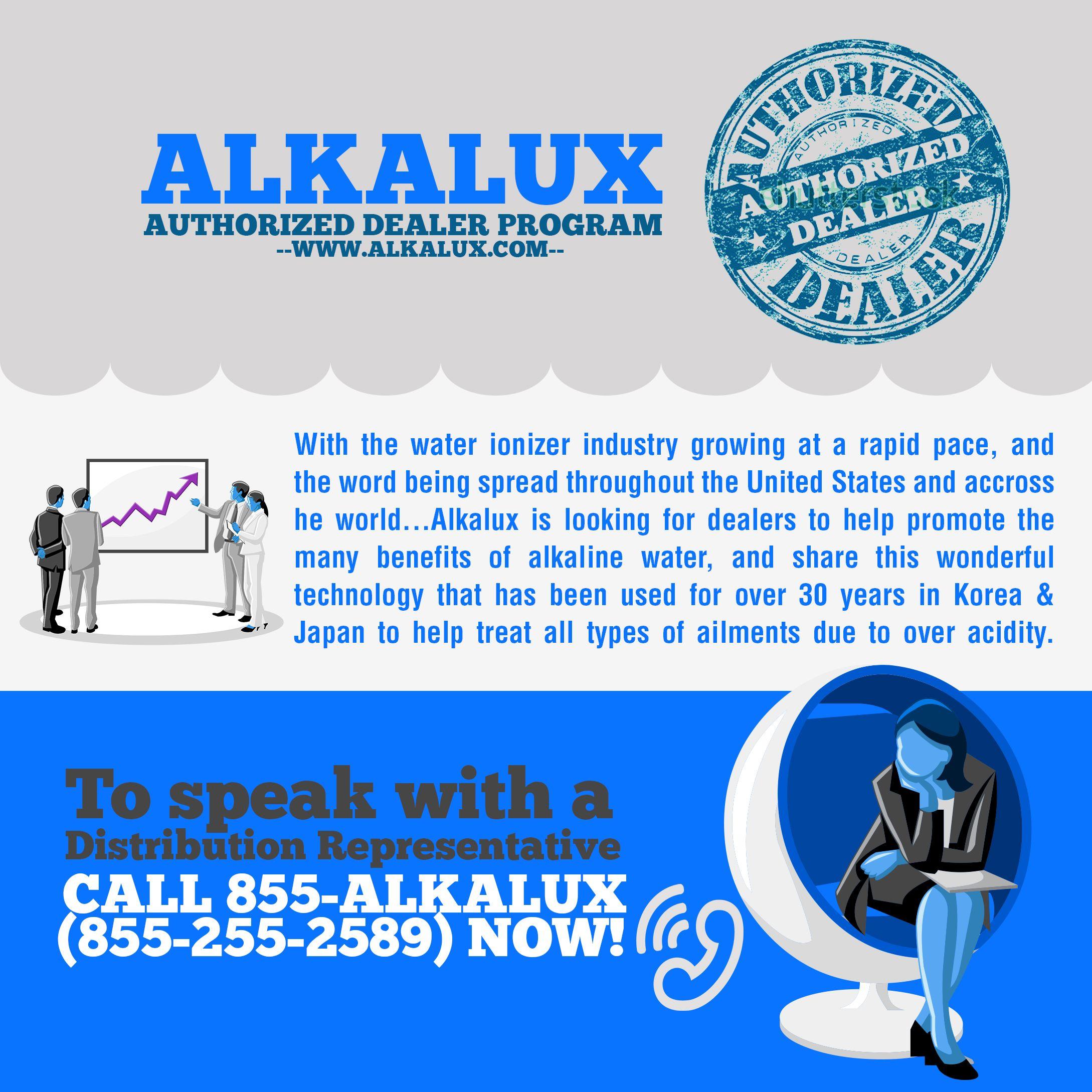 Alkalux Authorized Dealer Program http://www.alkalux.com/become-a-dealer