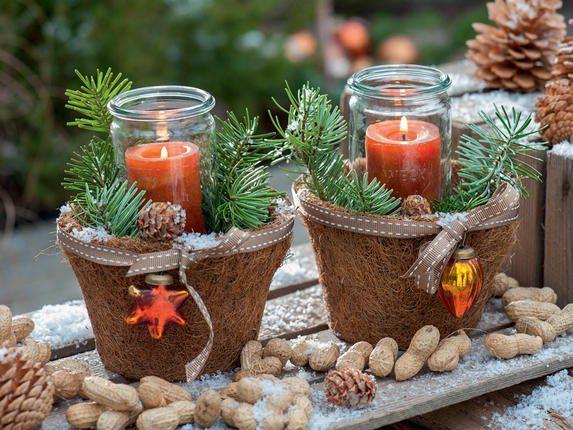 Ideen für die Weihnachtsdekoration #weihnachtlichetischdekoration